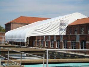nashville water treatment plant - shelter structures inc.